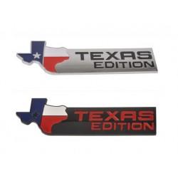 """Emblem """"Texas-Edition"""" in silber oder mattschwarz"""