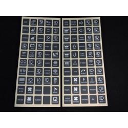 Schalter-Aufkleber (vertikal) für Switch-Pros Schalterkonsole
