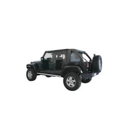 Cargo-Top schwarz für Suntop Softtop 4-Door