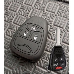 Rubber Key-Cover mit Jeep-Logo