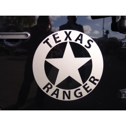 "Decal ""Texas Ranger"" in Wunschfarbe"