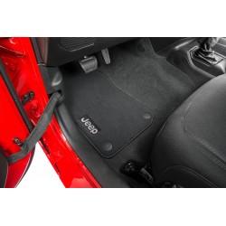Fussmatten-Set mit Jeep-Logo Mopar 4-Door
