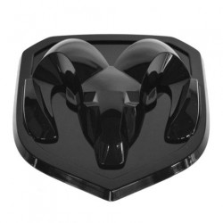 Kühlergrill-Emblem schwarz glanz Mopar
