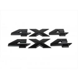 4x4 Emblem schwarz glanz für RAM Mopar