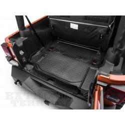 Gummiwanne für Kofferraum schwarz Wrangler 2-Door Jg. 07-13