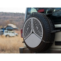 Spare-Tire BBQ Grill Frontrunner