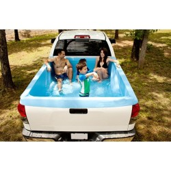 Pickup Pool - Verwandle dein Pickup-Truck in einen mobilen Swimming-Pool!