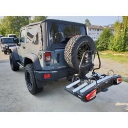 Fahrradträger Thule für Anhängerkupplung inkl. Spare-Tire Adapter
