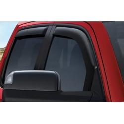 Windabweiser rauchglas für Seitenfenster vorne & hinten Mopar Crew-Cab