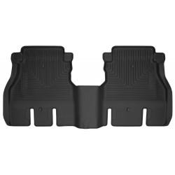 Gummiwannen hinten schwarz Husky Liners  Wrangler JL 4-Door
