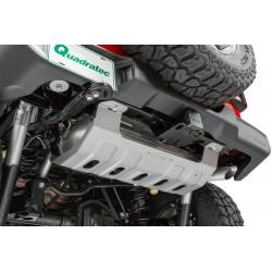 Muffler Aluminium Skidplate Quadratec Wrangler JL