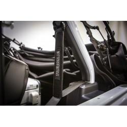 Seatbelt Silencers SpiderWebShade Wrangler 4-Door