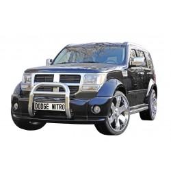 Rammschutzbügel mit EG-Genehmigung chrom Dodge Nitro