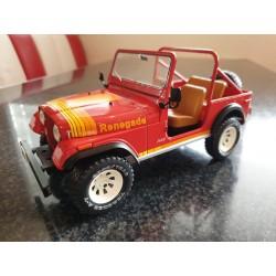 """Modellauto CJ7 """"Renegade"""" rot 1:18"""